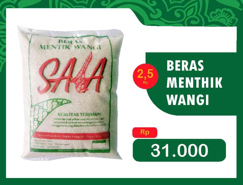 BERAS MENTIK WANGI 2,5 kg
