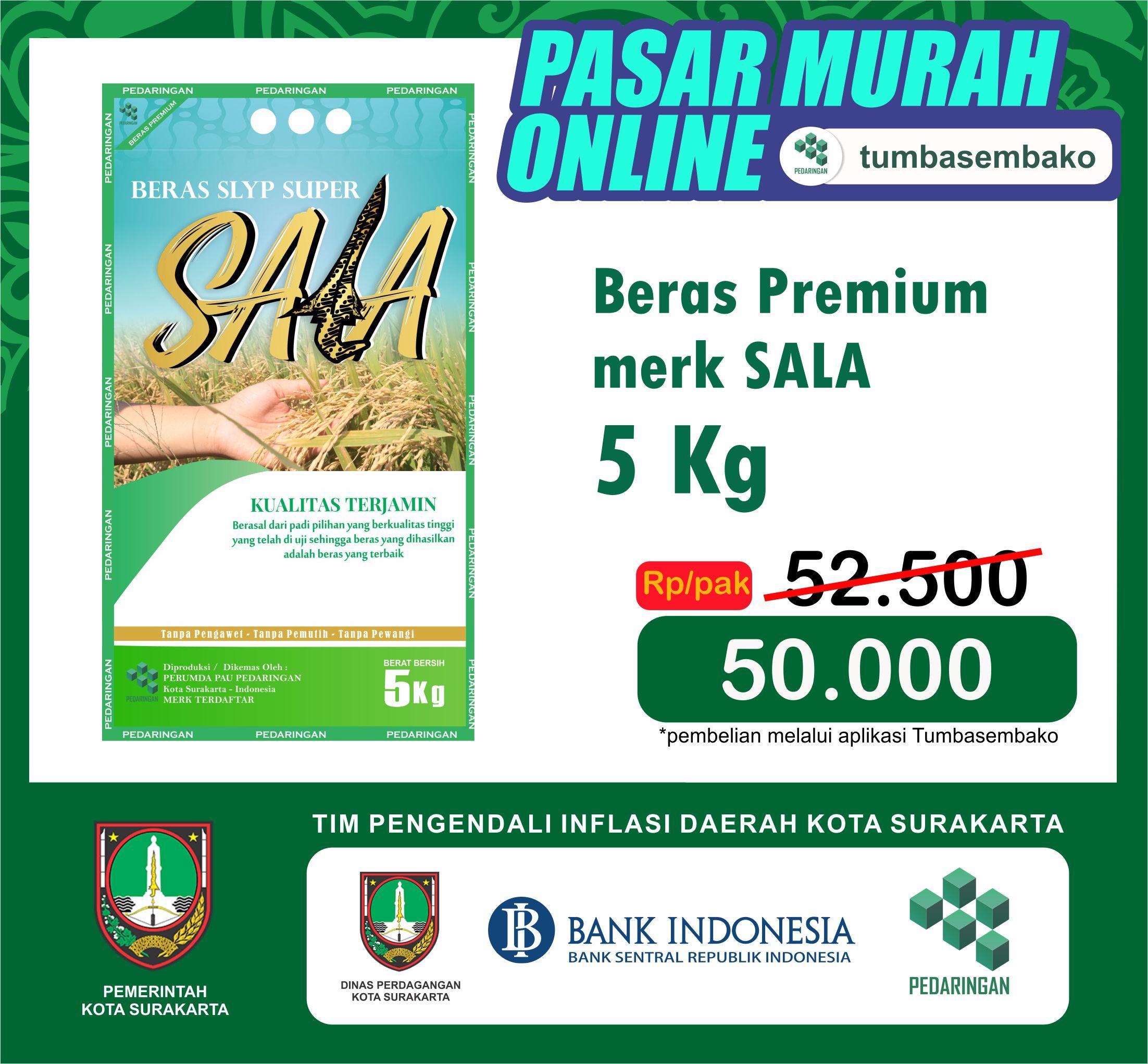 BERAS PREMIUM SPECIAL SALA /5kg