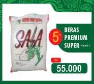 BERAS PREMIUM KEPALA 5kg